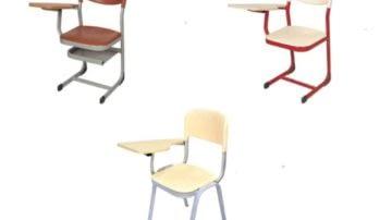 Chaises avec tablette - Mobilier Scolaire GroupeInegma