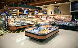 Supermarché et magasin de grande distribution