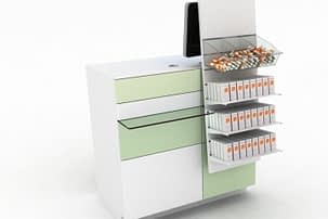 rayonnage pour pharmacie