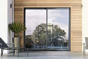 Baies vitrées Aluminium