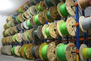 Stockage de bobines